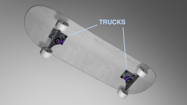 Trucks, Skateboard, Metal, Gear, Buy, Choose,スケボー,スケートボード,HOWTO,